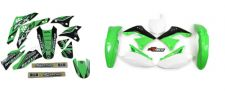 New KXF 450 06 07 08 PTS4 Graphics Sticker Plastic Kit Green Plastics KXF450